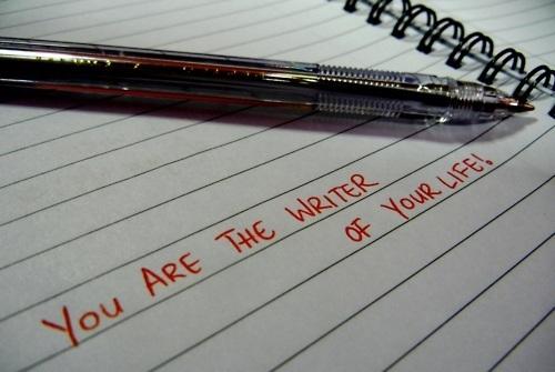 """""""Te vagy életed írója"""""""
